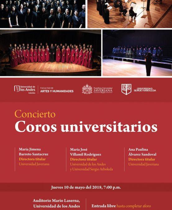 Encuentro de coros universitarios
