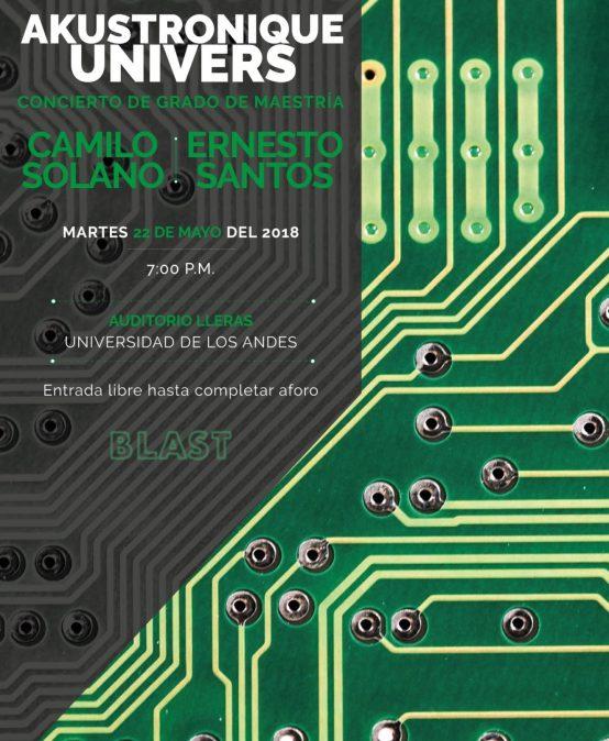 Akustronique Univers: Concierto de grado