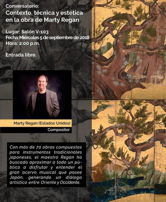 Conversatorio: Contexto, técnica y estética en la obra de Marty Regan