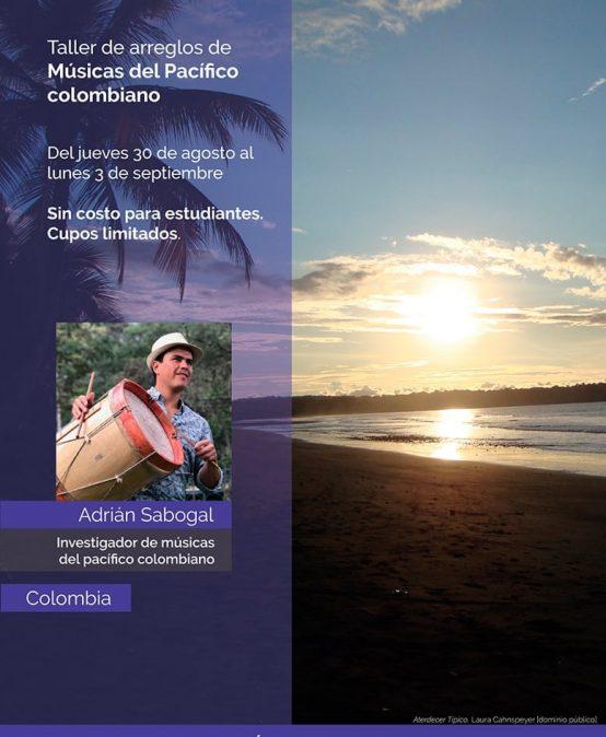 Taller de arreglos de músicas del pacífico colombiano