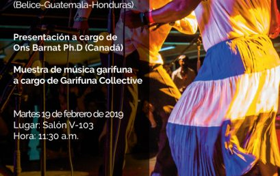 Conversatorio-taller: Introducción a la música Garifuna (Belice-Guatemala-Honduras)