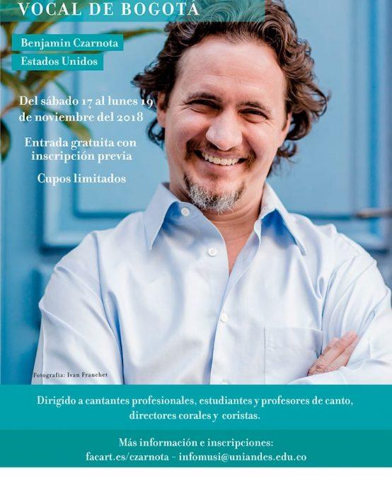 Primer Seminario abierto de Pedagogía Vocal de Bogotá: Elementos esenciales de pedagogía y anatomía vocal