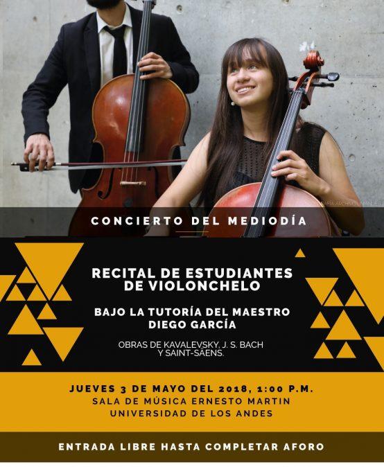 Franja concierto del mediodía: Recital de estudiantes de violonchelo