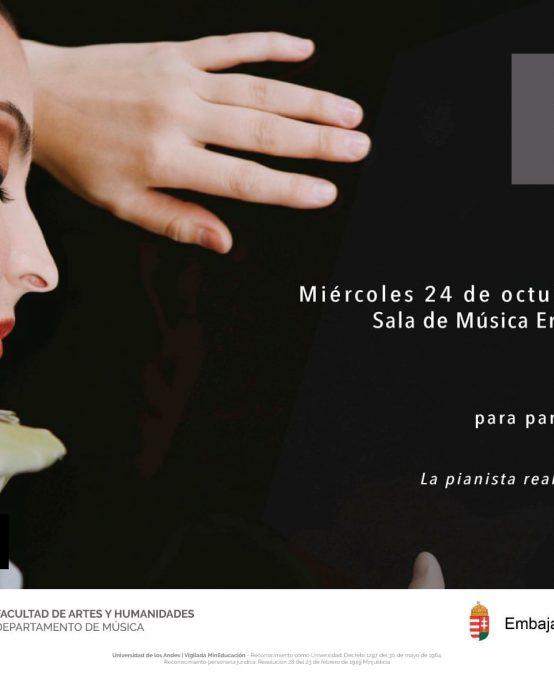 Clase magistral con la pianista Krisztina Fejes, piano (Hungría)