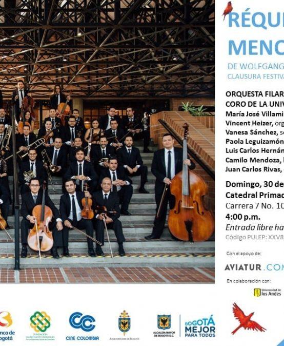 Coro Uniandes canta el Réquiem K.626 de W .A. Mozart
