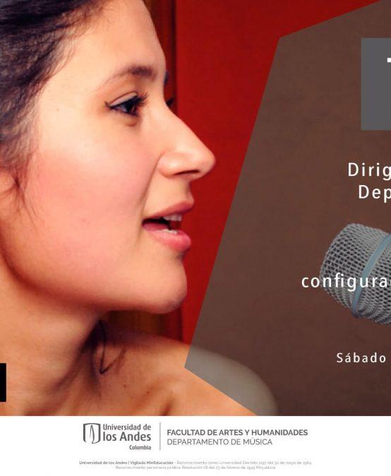 Taller de fisiología de la voz y configuraciones del tracto vocal, dirigido por Kelly Montilla