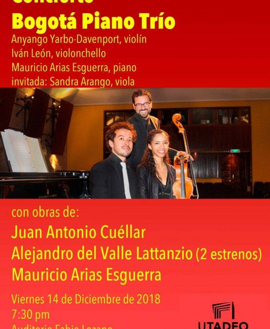 Concierto de Bogotá Piano Trío