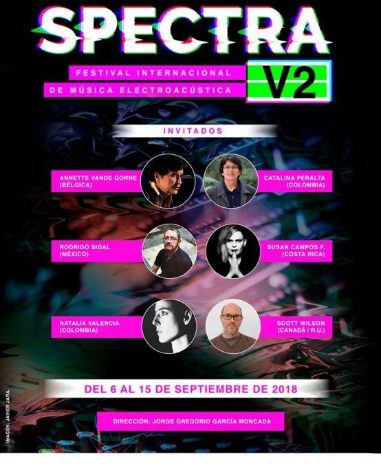 Spectra – Festival internacional de música electroacústica 2018 – BLAST – Teatro de Sonido de Bogotá de la Universidad de los Andes