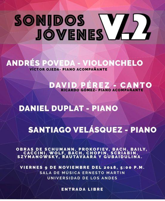 Tercer concierto: Sonidos Jóvenes
