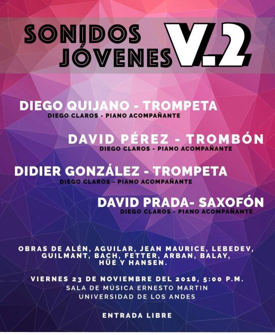 Cuarto concierto: Sonidos Jóvenes