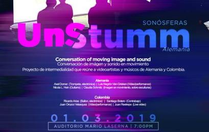 UnStumm: Conversación de imagen y sonido en movimiento
