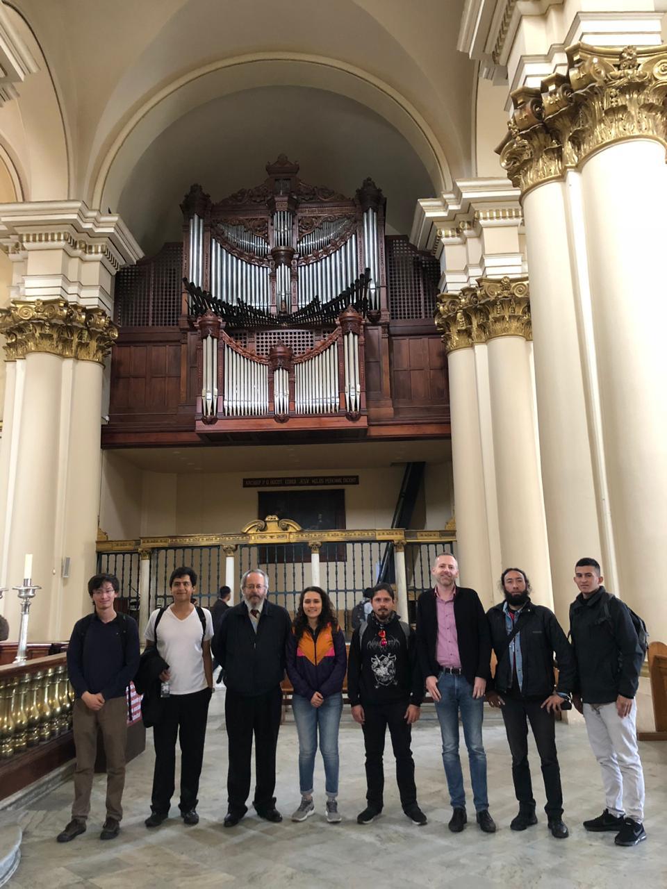 Primera cohorte del Programa de órgano y música litúrgica
