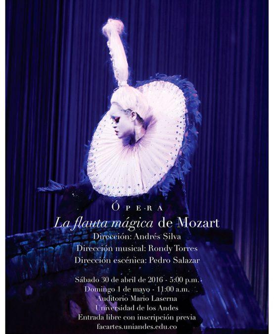 Ópera La Flauta Mágica, de W. A. Mozart