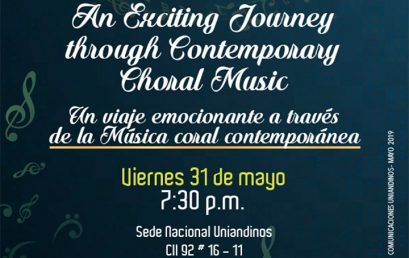 An Exciting Journey through Contemporary Choral Music