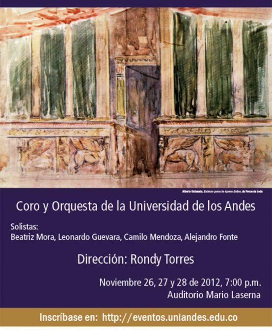Ester, ópera bíblica en 3 actos, de Ponce de León