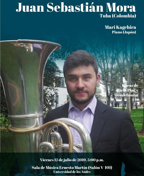 Recital: Juan Sebastián Mora, tuba (Colombia)