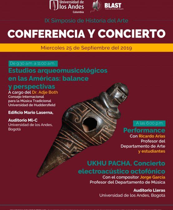 Performance de Ricardo Arias y Ukhu pacha, concierto electroacústico octofónico