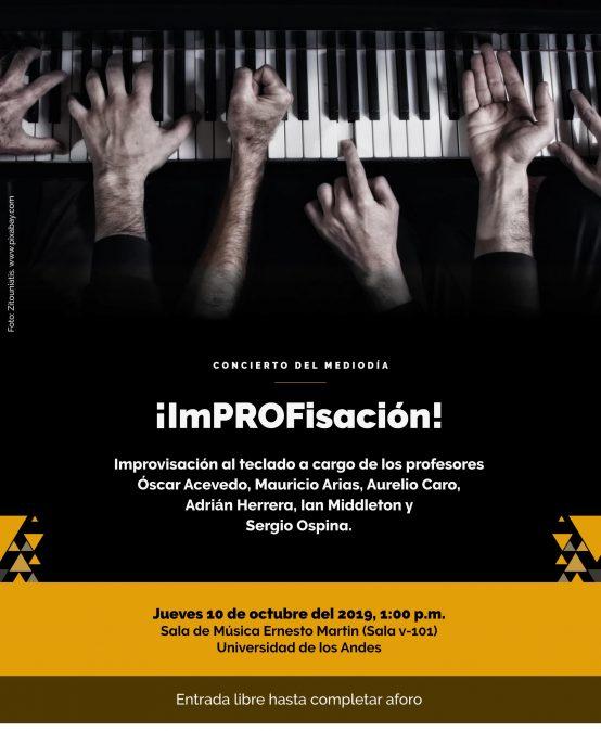 Concierto del Mediodía: ¡ImPROFisación! Improvisación al teclado