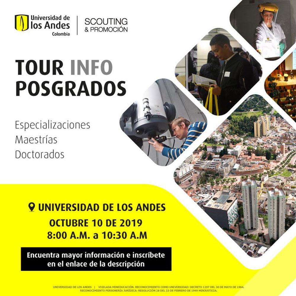 Tour InfoPosgrados Octubre 2019