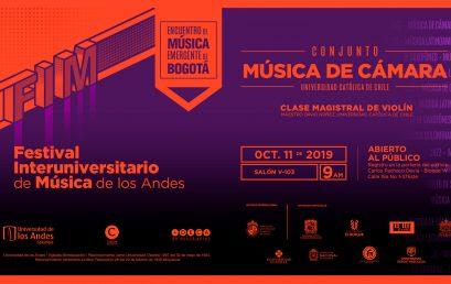 Clase magistral de violín con el maestro David Núñez, Universidad Católica de Chile