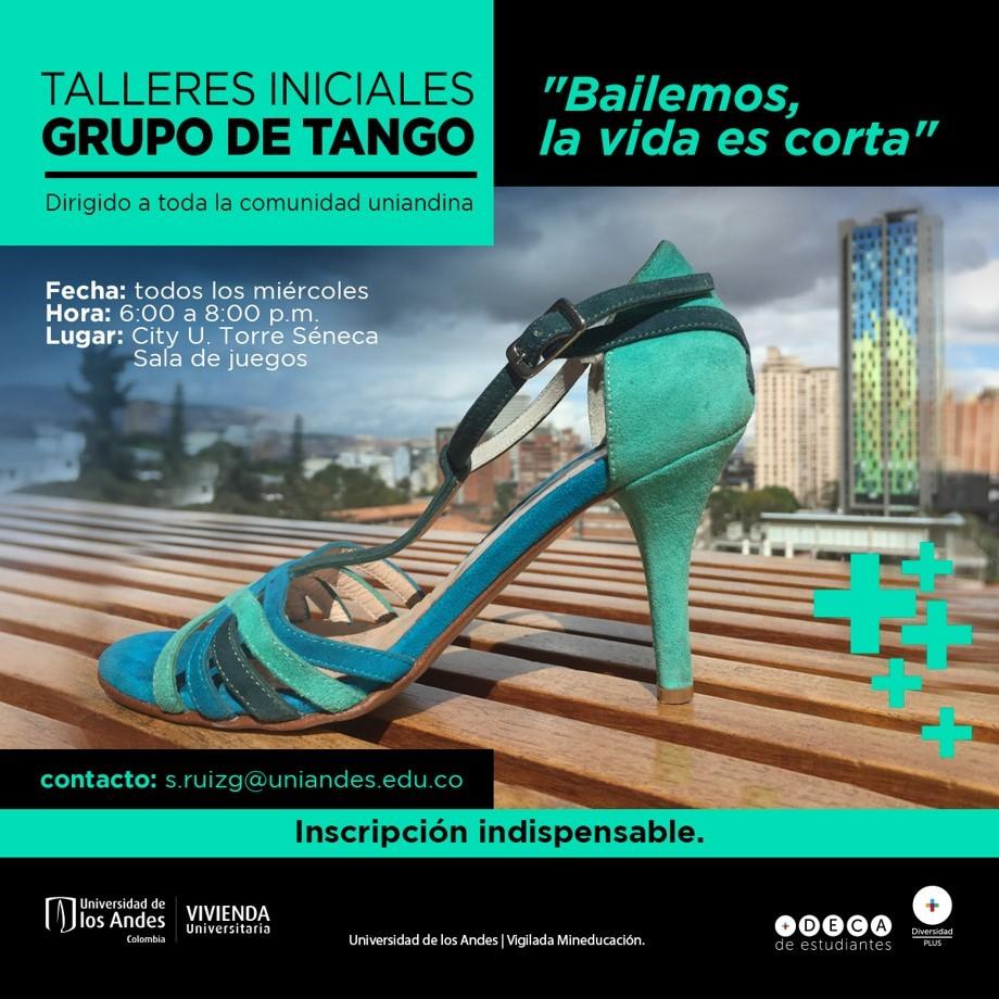 Talleres iniciales grupo de tango