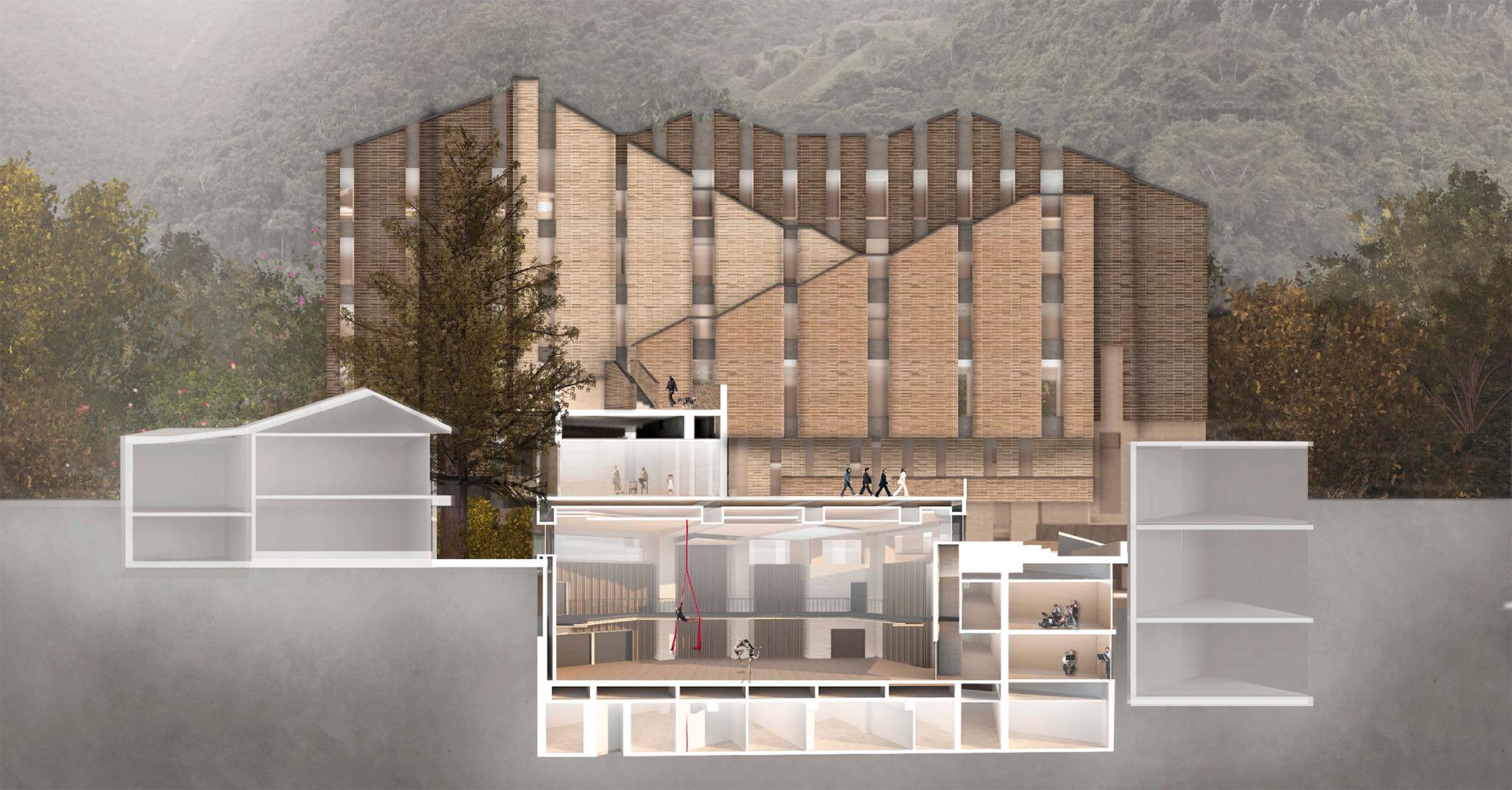 Nuevos edificios y espacios de planta física para el Departamento de Música