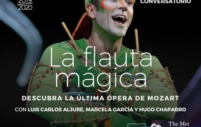 Conversatorio: La flauta mágica de W. A. Mozart
