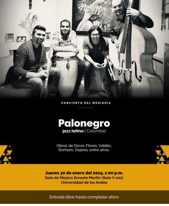 Concierto del mediodía: Palonegro, jazz latino
