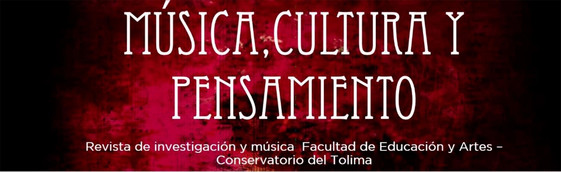 Convocatoria: Publicación de artículos en la revista Música, Cultura y Pensamiento