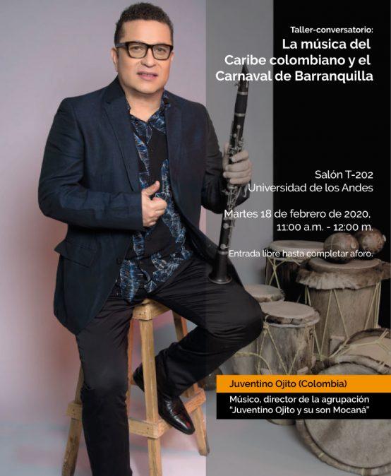 Taller-conversatorio: La música del Caribe colombiano y el Carnaval de Barranquilla