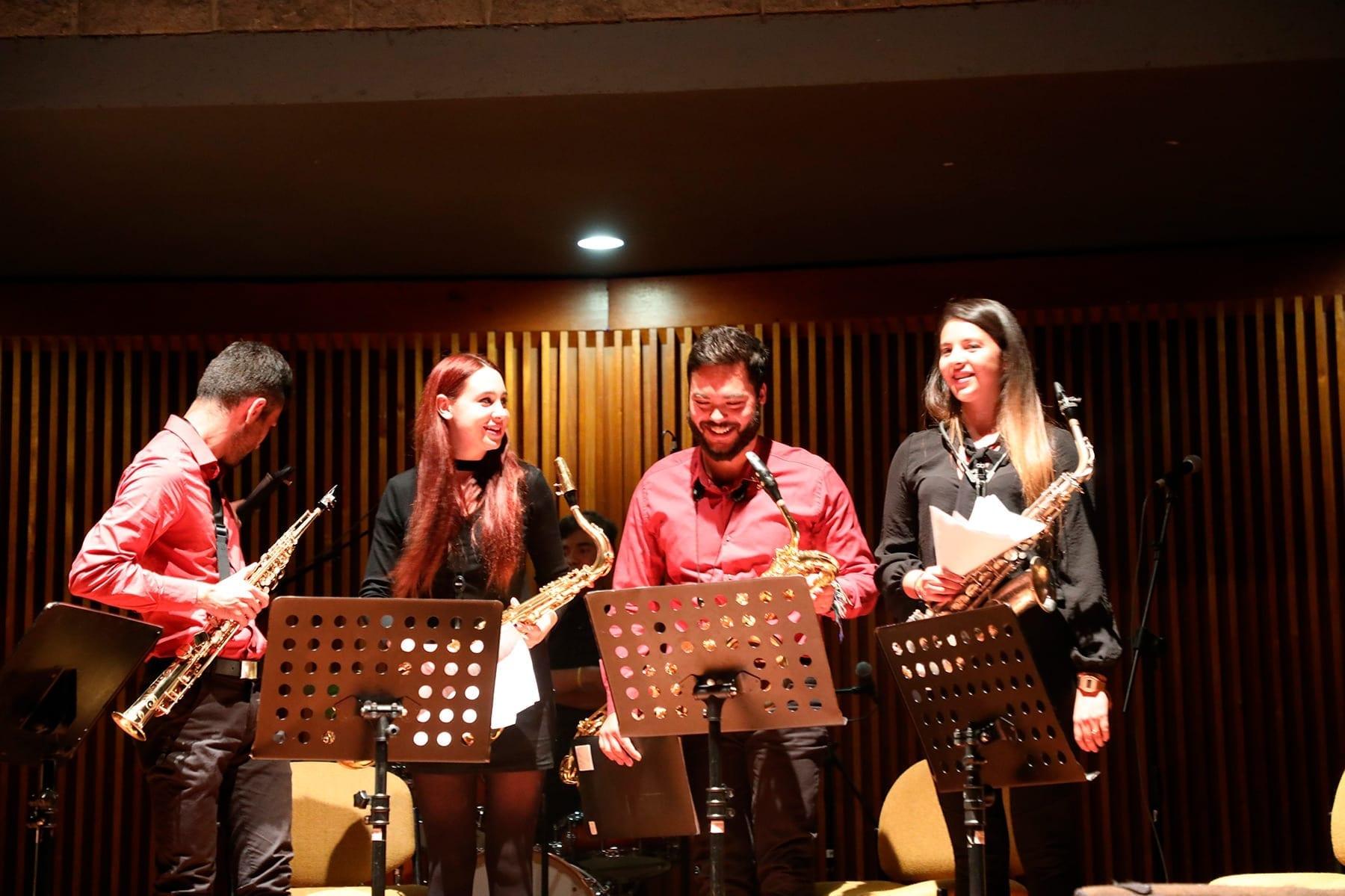 Concierto | Grupo de Rock (PIJ) + Conjuntos de saxofones