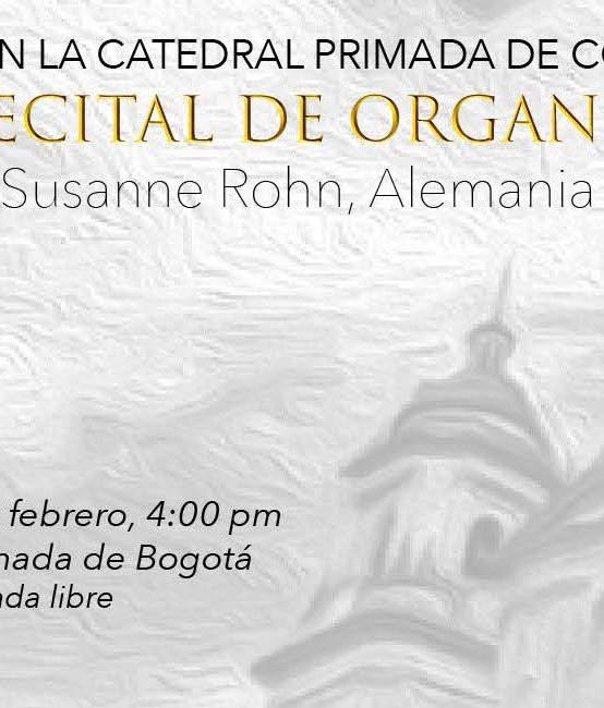 Recital de órgano, Susanne Rohn (Alemania)