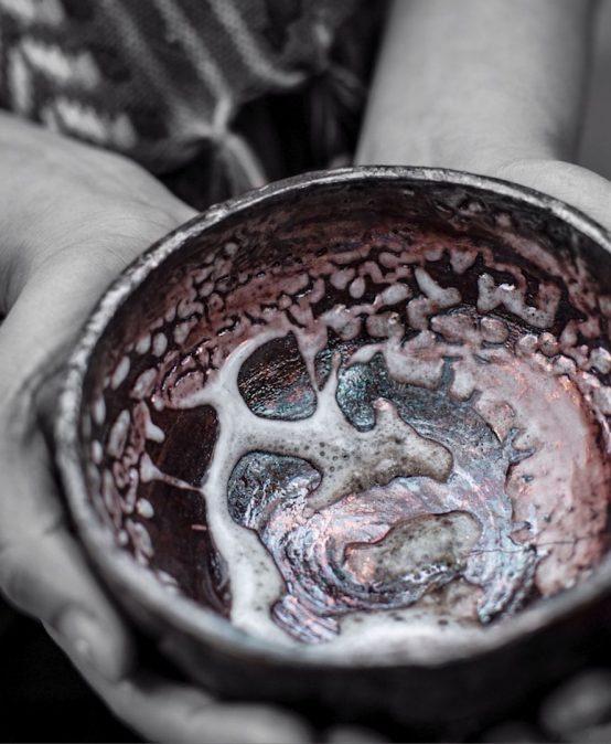 Quema experimental de cerámica Rakú