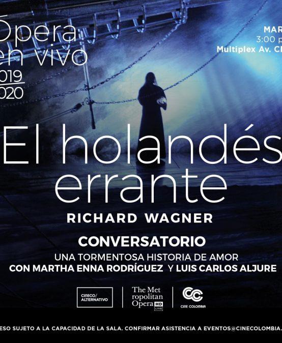 Conversatorio sobre ópera El holandés errante, de Richard Wagner