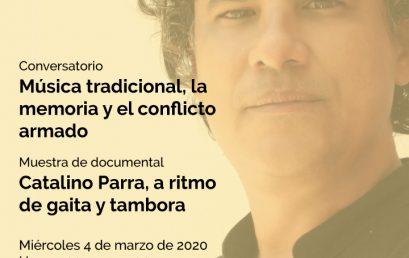 Conversatorio: Música tradicional, la memoria y el conflicto armado