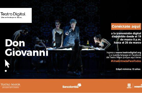 Teatro Digital: Ópera Don Giovanny