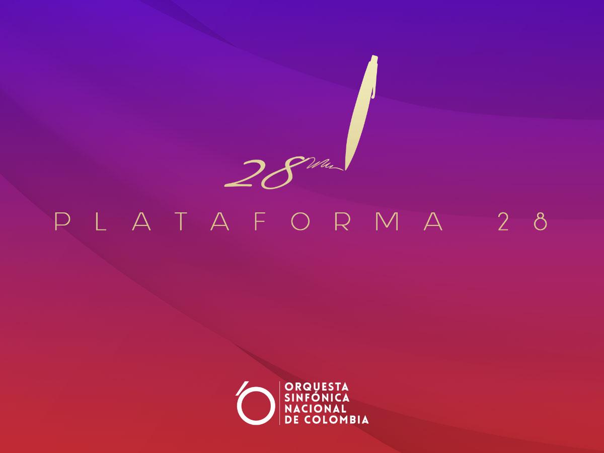 Convocatoria para compositores: Plataforma 28