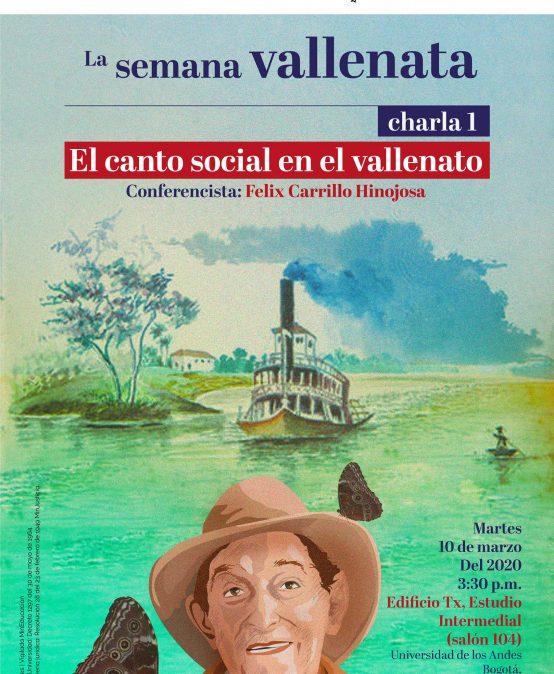 El canto social en el vallenato con Felix Carrillo Hinojosa