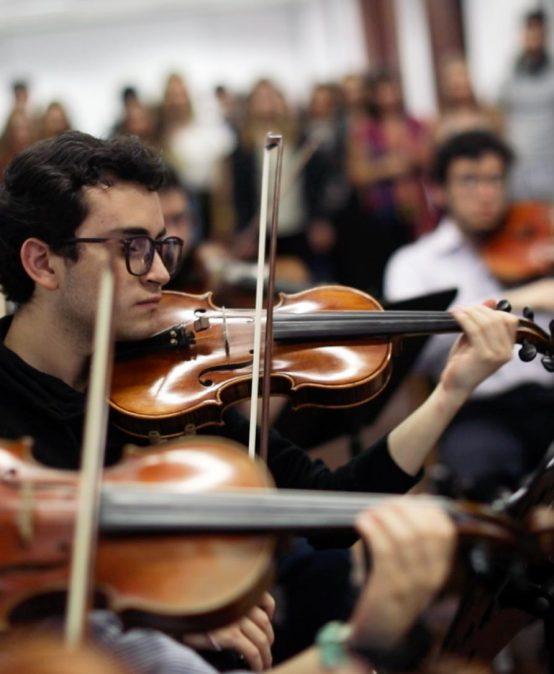Consejería grupal para estudiantes de música