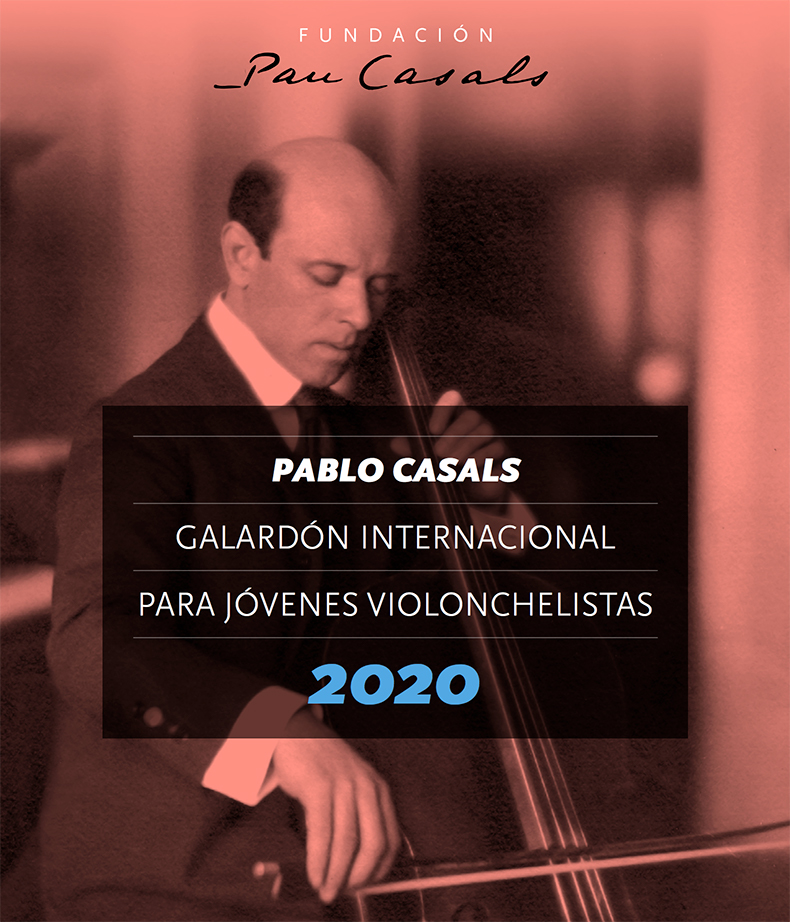 Galardón Internacional Pablo Casals para Jóvenes Violonchelistas 2020
