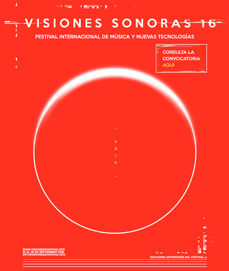 Convocatoria para compositores: Visiones Sonoras 2020