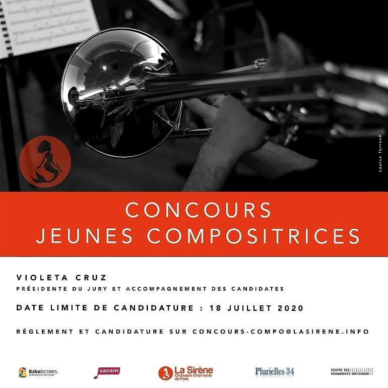 Concurso: Jóvenes Compositoras   Orquesta La Sirena de París