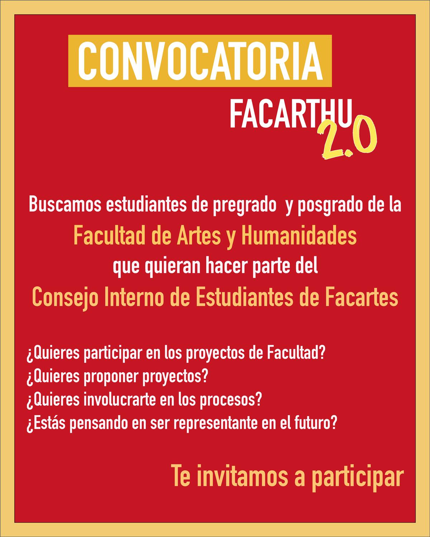 Convocatoria Facarthu