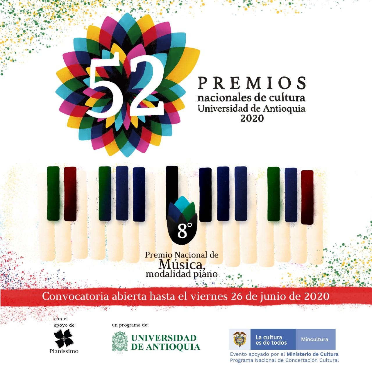 8vo Premio Nacional de Música, modalidad piano