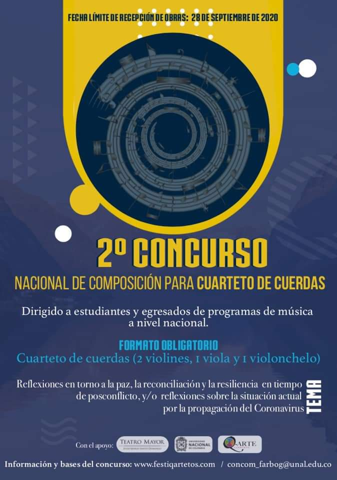 2do Concurso Nacional de Composición para Cuarteto de Cuerdas