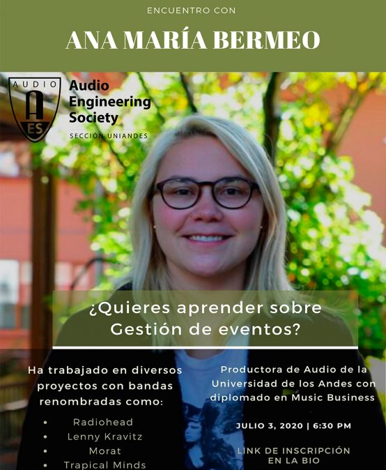 Encuentro con Ana María Bermeo | Charlas AES