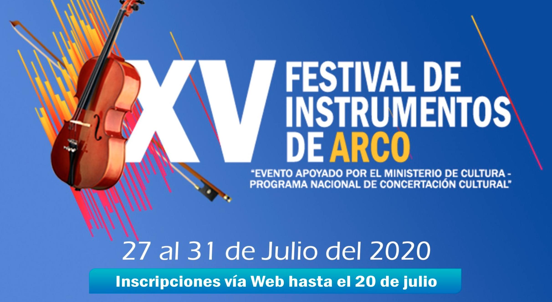Convocatoria: XV Festival de instrumentos de arco