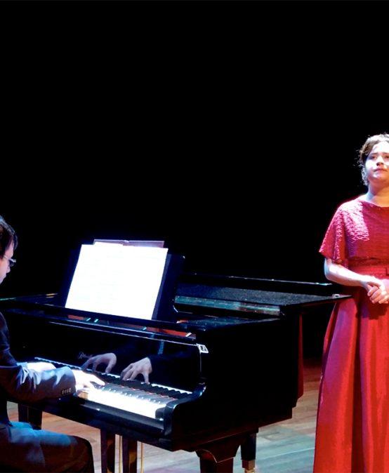 Concierto del mediodía: Elizabeth Patiño y Simón Vlásov, soprano y piano (Colombia y Rusia)