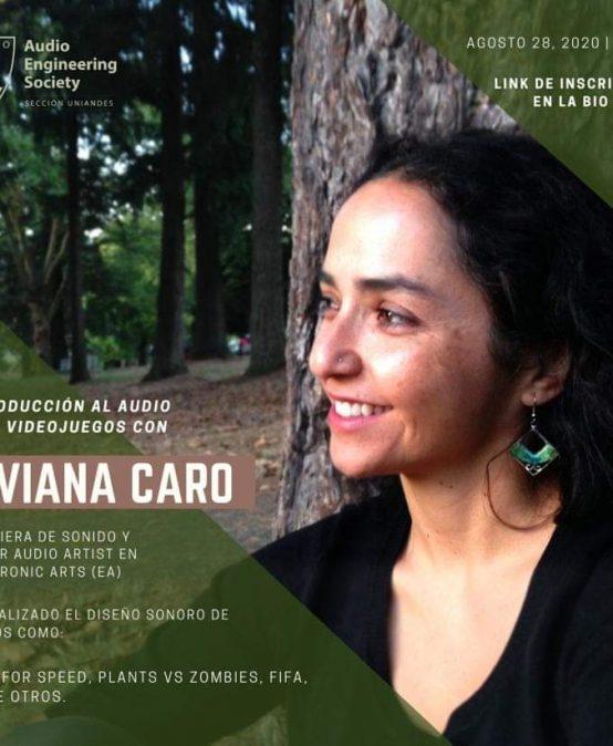 Encuentro con Viviana Caro | Charlas AES