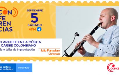 Taller deimprovisaciónde clarineteen la música del Caribe colombiano